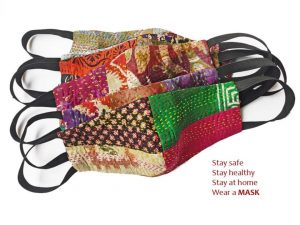 Reusable Kantha Mask Pack