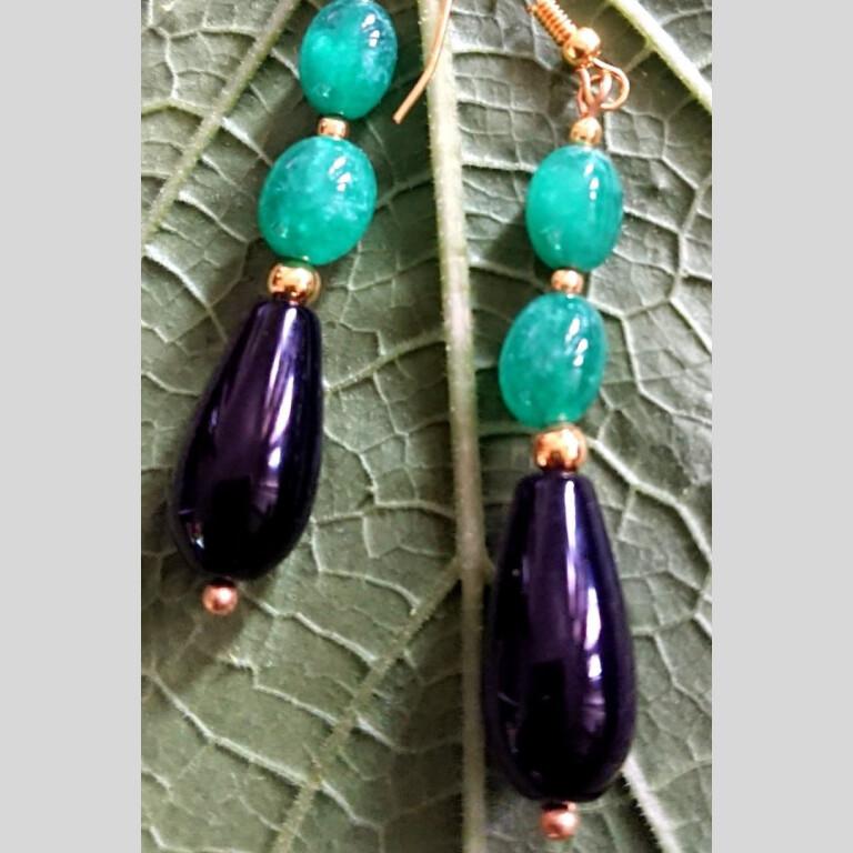 Green Fantasy Earrings |