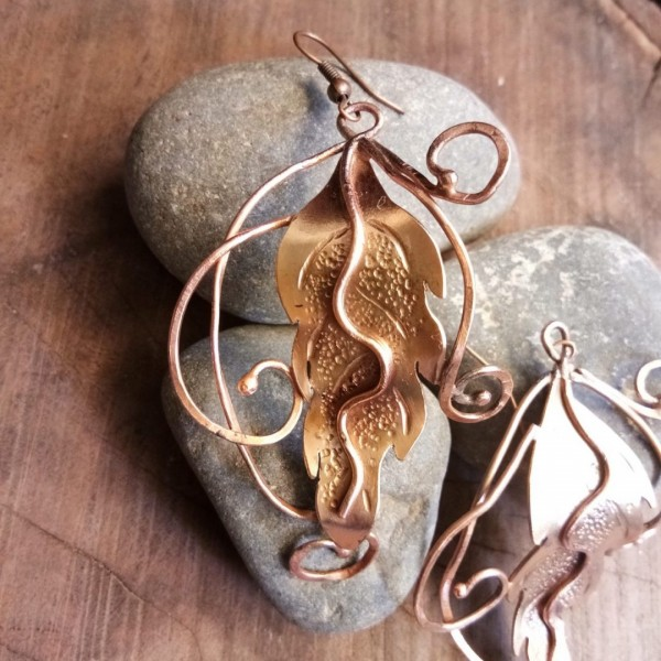 Fall leaves earrings |