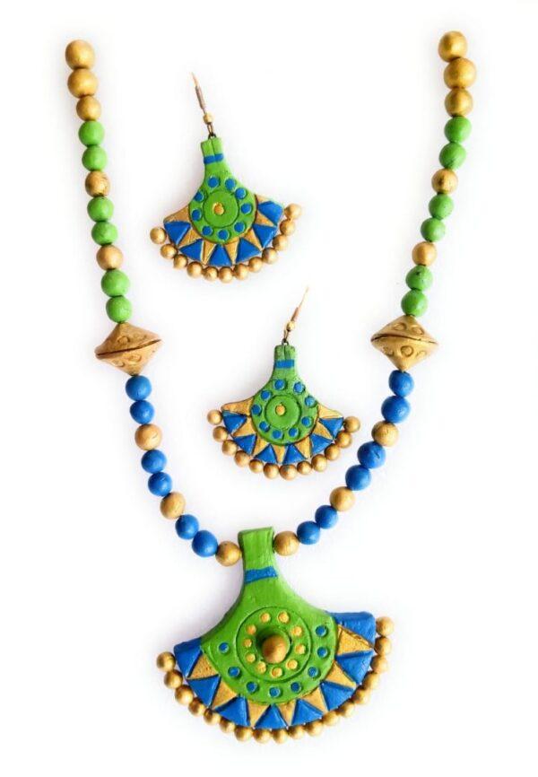 Axe Shaped Handmade Necklace