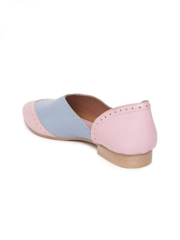 Pink Brogues Shoes
