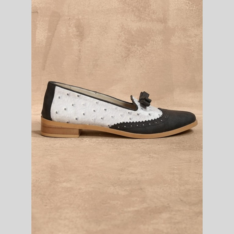 Grey Knot Shoes