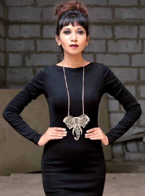Indian Elephant Neckpiece |