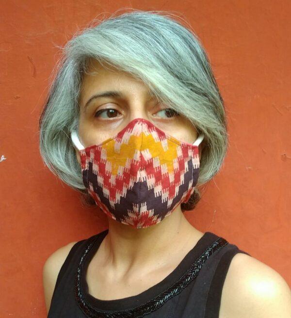 Kalamkari Print mask