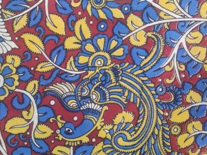Kalamkari Nature Print Mask