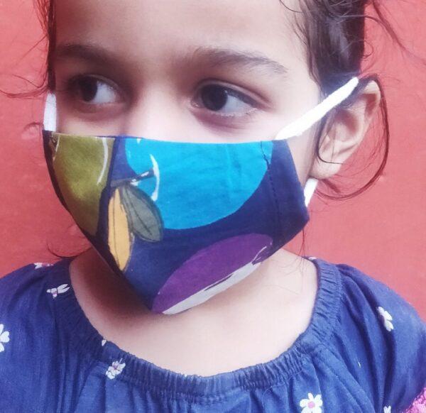 Family Pack Cotton Mask | Apple Print Mask