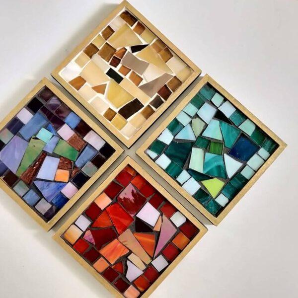 Mosaic Coasters | Mosaic Coasters |