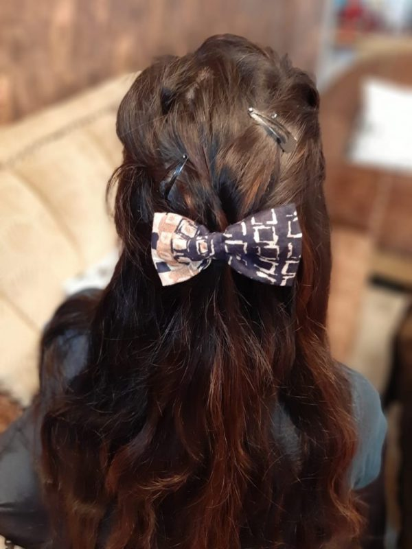 Vintage Blue Bow - Handmade (Set of Two) |