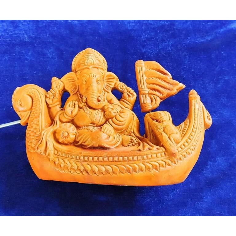 Lord Ganesha Terracotta Idol Showpiece