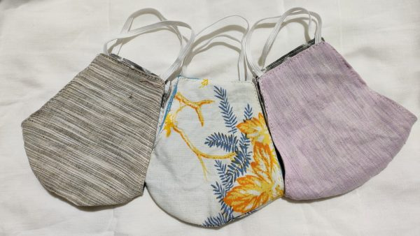 Cotton Mask (Pack of Three)