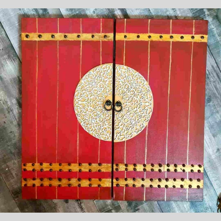 Royal Red Door Canvas | Royal Red Door Canvas |