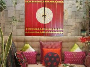 Royal Red Door Canvas