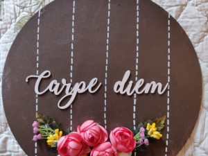Hand Painted Wooden Wall Plate