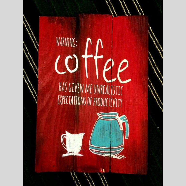 Love for Coffee Plaque