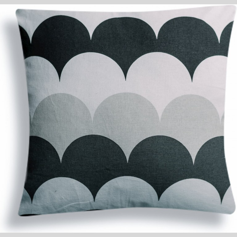 Monochrome Bubble Cushion Cover |