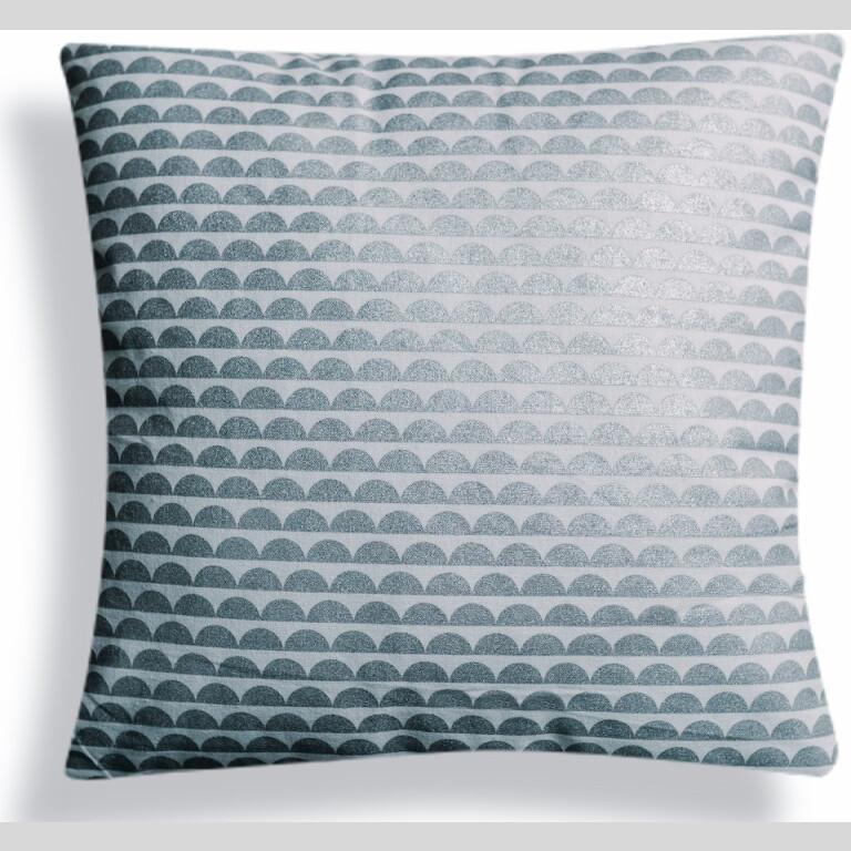 Silver Bubble Cushion Cover |
