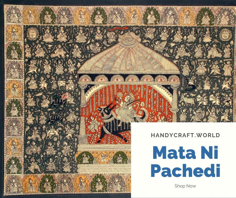 Mata ni Pachedi Gujarat   Kalamkari  