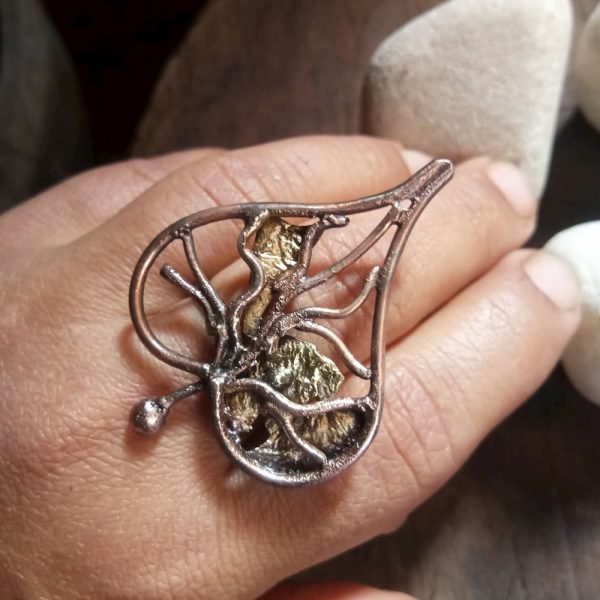 Fall Leaf Ring