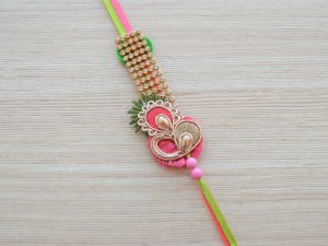Ethnic Premium Embroidered Rakhi for Brother
