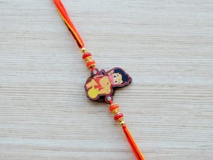 Hanuman Motif Rakhi for Boys Kids