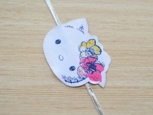 Simple Hello Kitty Fun Rakhi for Kids