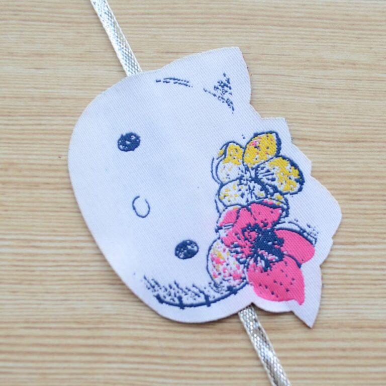 Simple Hello Kitty Fun Rakhi for Kids |