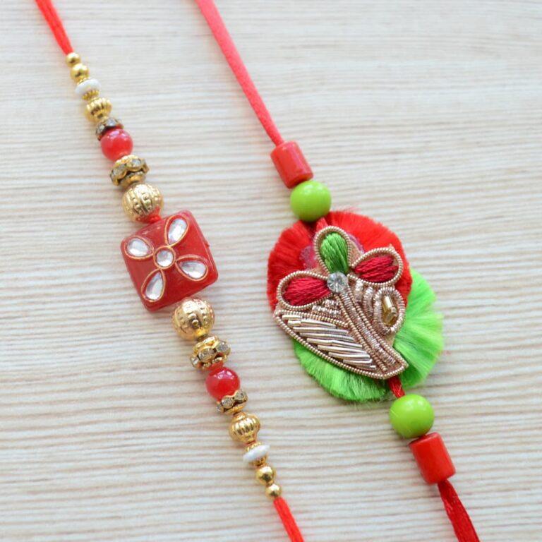 Traditional Rakhi Gift Set |
