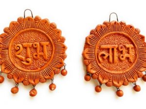 Handcrafted Ethnic Shubh-Labh Door/Wall Hanging Toran