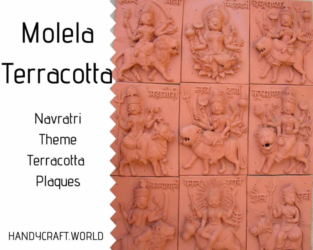 Molela terracotta plaques clay craft