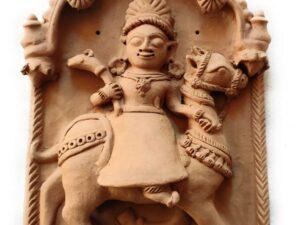 Molela Terracotta Saandiya Mata Plaque