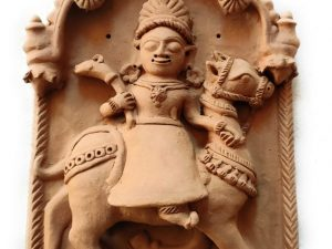 Sandhaya Mata Molela Terracotta Plaque