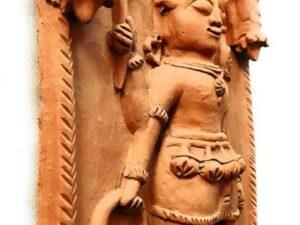 Molela Terracotta Bhairava Lok Devta Plaque