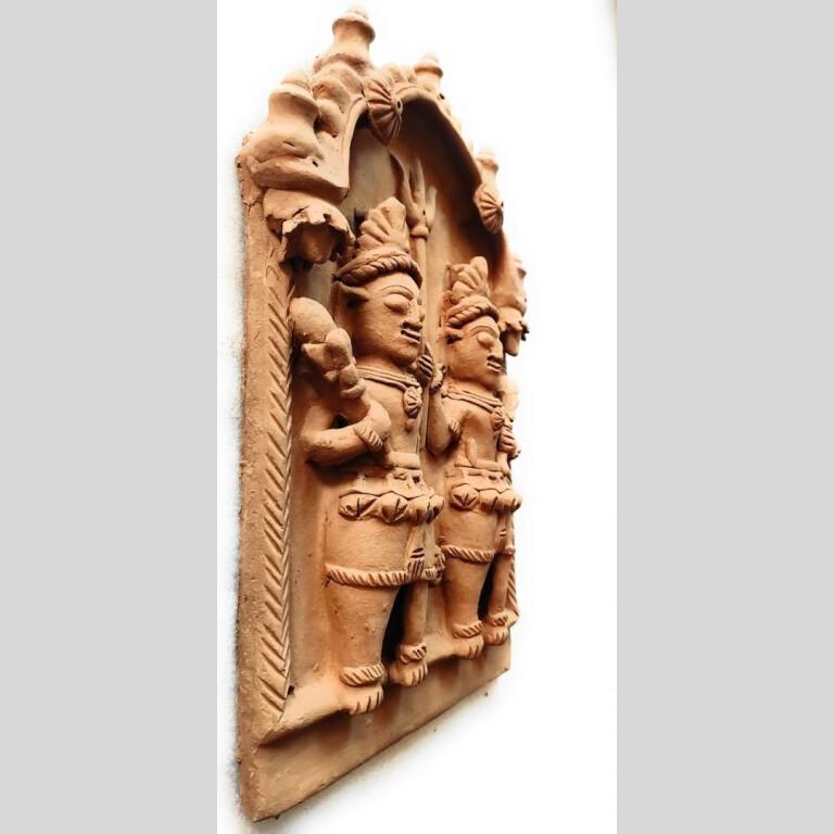 Bhairav Kala Gora Terracotta Plaque | Bhairav Kala Gora Terracotta Plaque |