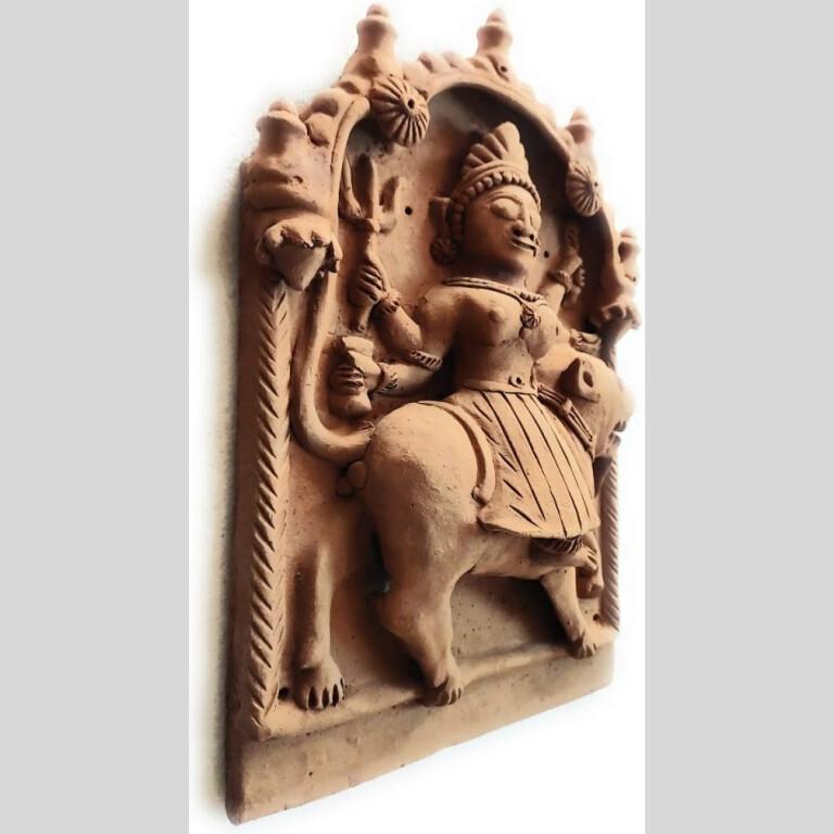 Durga Mata Molela Terracotta Plaque | Durga Mata Molela Terracotta Plaque |