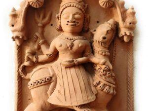 Molela Terracotta Sand Mata Plaque