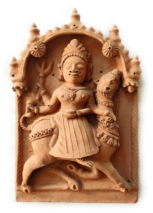 Sand Mata Molela Terracotta Plaque