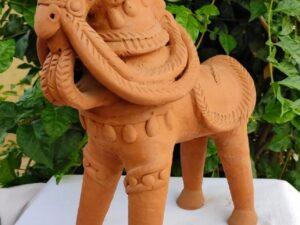 Clay Terracotta Horse