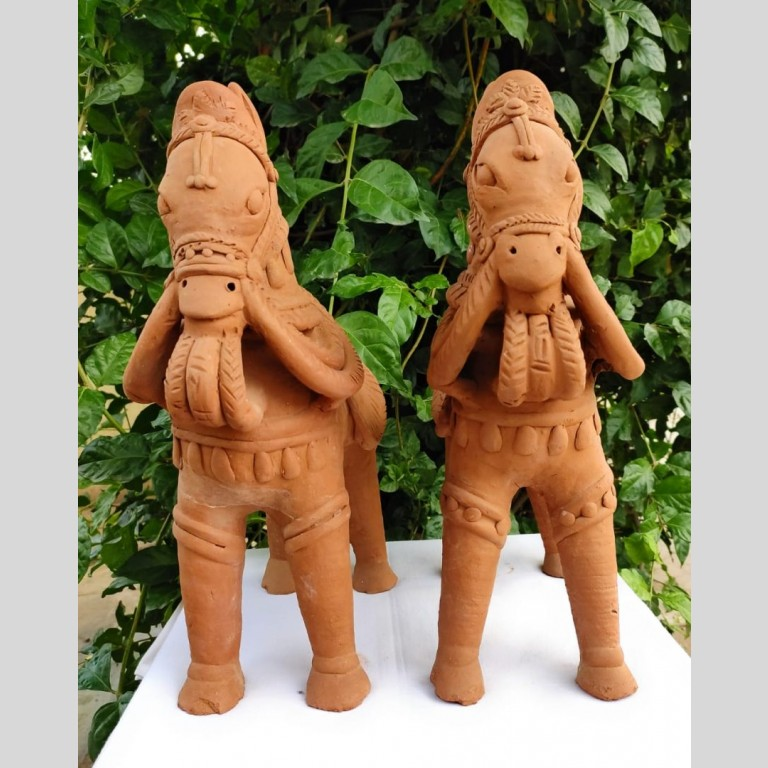 Clay Terracotta Horse | Clay Terracotta Horse |