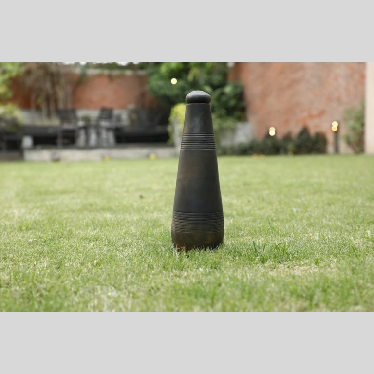 Terracotta Conical Bottle Double Baked