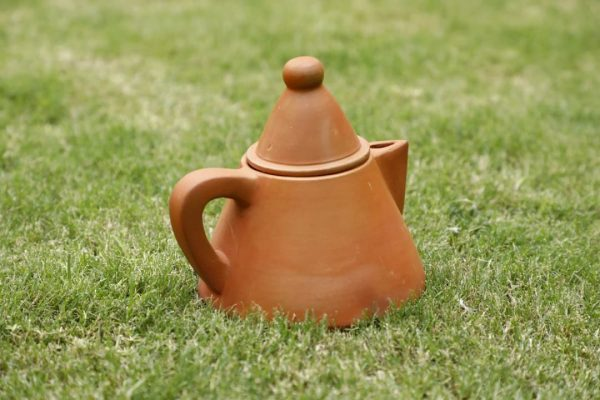 Terracotta Conical Tea kettle   Terracotta Conical Tea kettle  