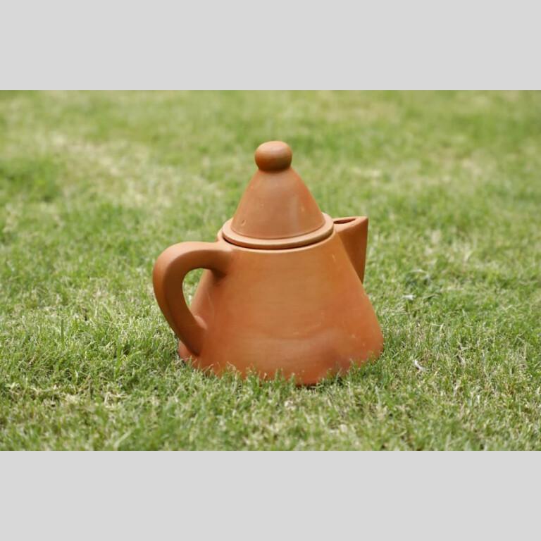 Terracotta Conical Tea kettle | Terracotta Conical Tea kettle |