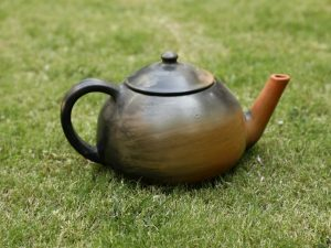 Terracotta Tea Kettle Double Baked