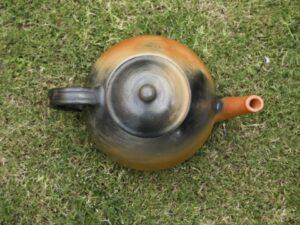 Terracotta Designer Tea Kettle-Double Baked