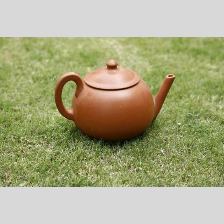 Terracotta Designer Tea Kettle