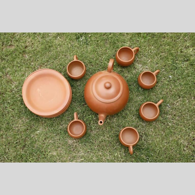 Terracotta Designer Tea Set | Terracotta Designer Tea Set |
