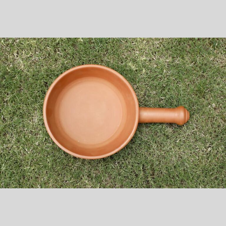 Terracotta Frying Pan   Terracotta Frying Pan  