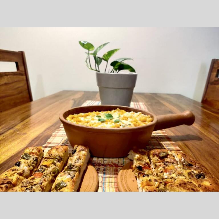 Terracotta Frying Pan