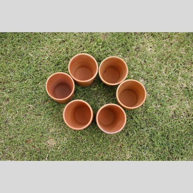 Terracotta Glass Set