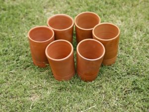 Terracotta Glass Set