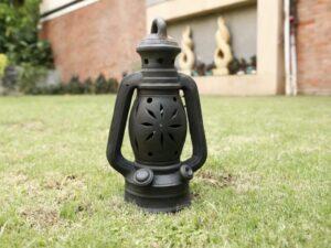 Terracotta Lantern Double Baked